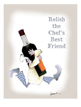 Relish the Chef's Best Friend